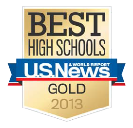 Best High School US News Gold 2013